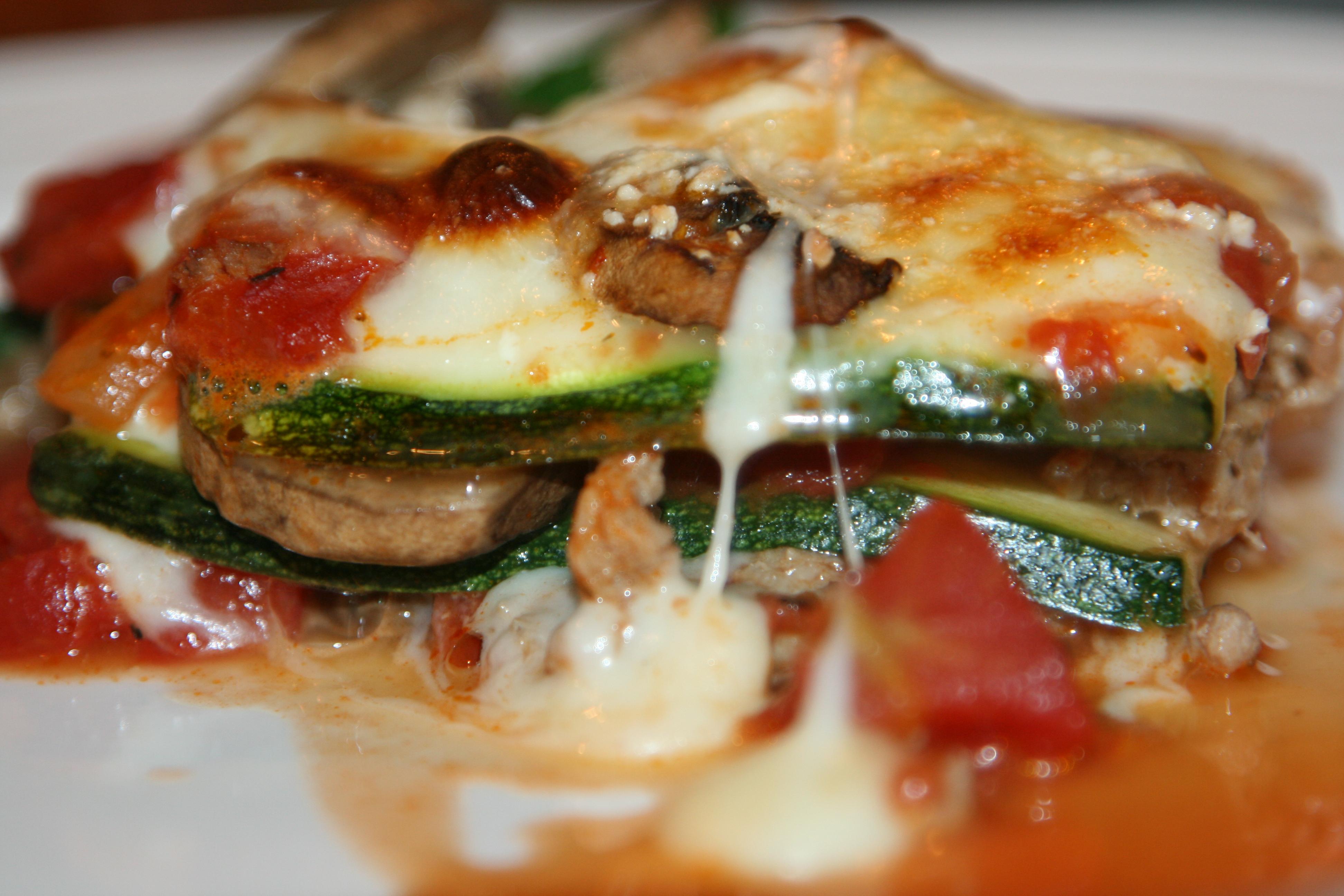 super hot zucchini lasagna keeping the lasagna from zucchini lasagna ...